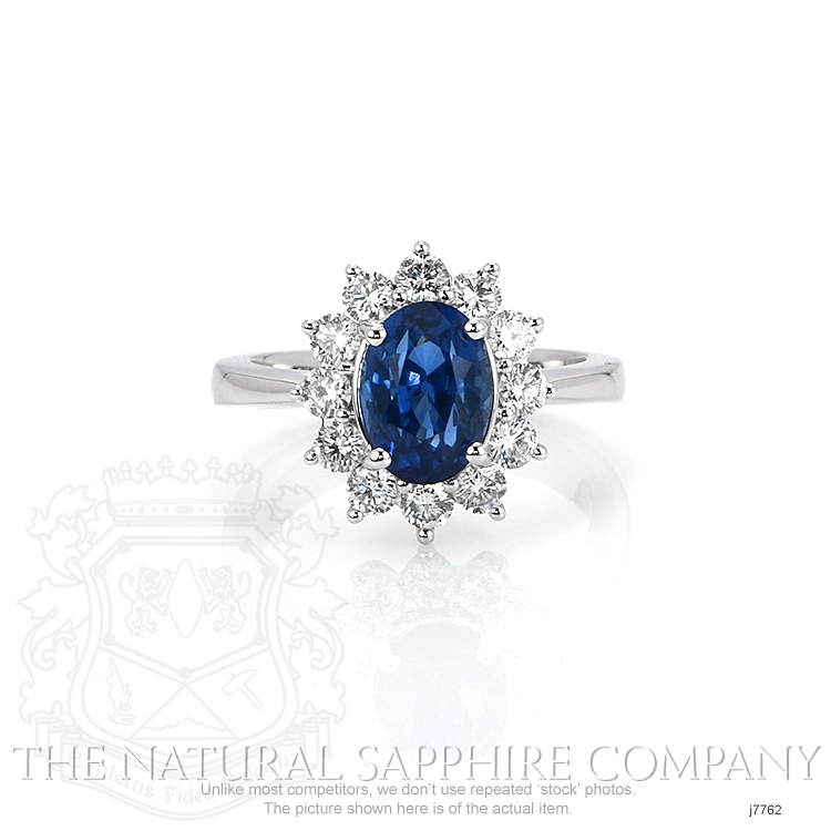 2.63ct Blue Sapphire Ring Image