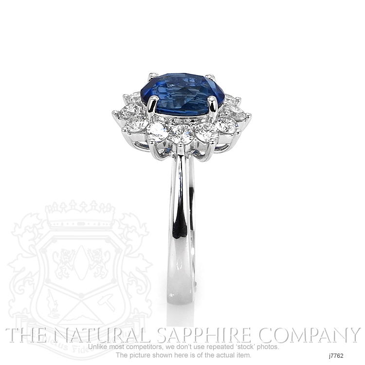 2.63ct Blue Sapphire Ring Image 3