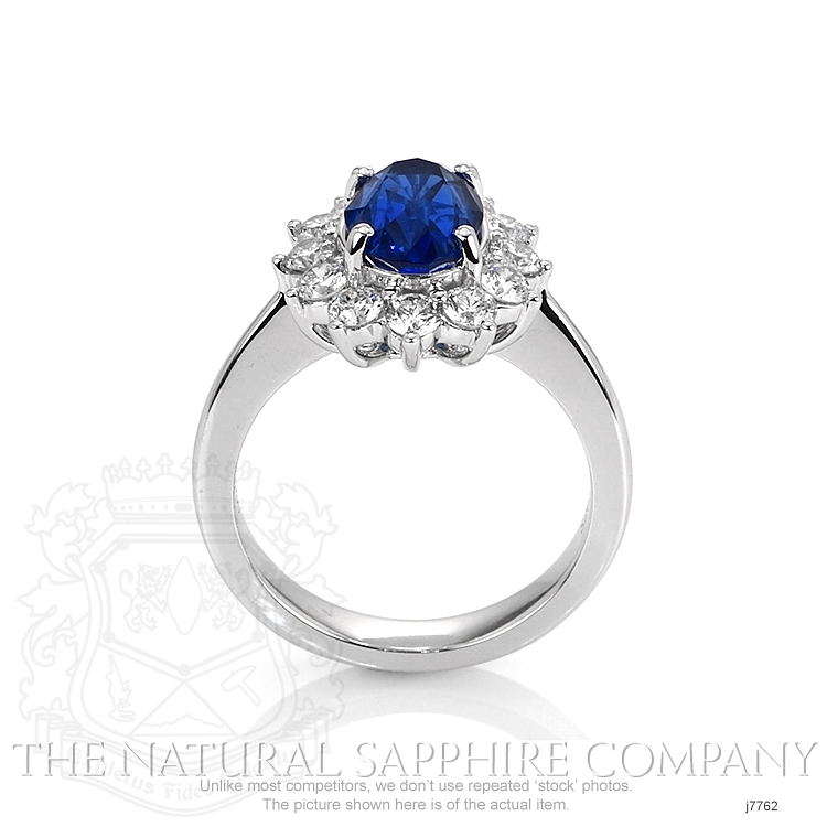 2.63ct Blue Sapphire Ring Image 4