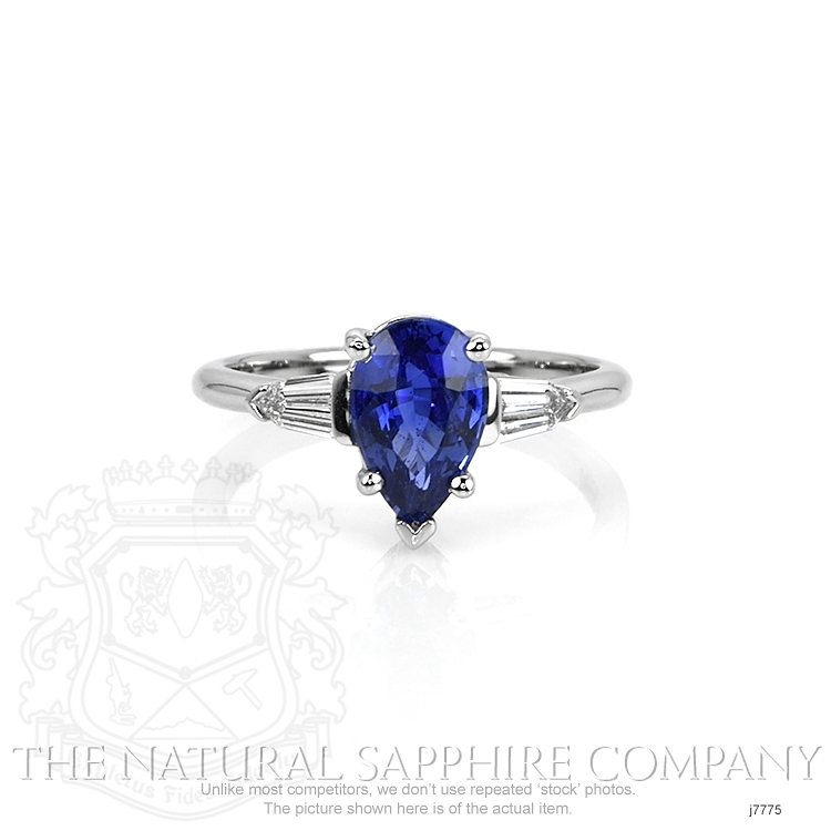 1.74ct Blue Sapphire Ring Image