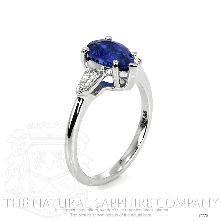 1.74ct Blue Sapphire Ring Image 2