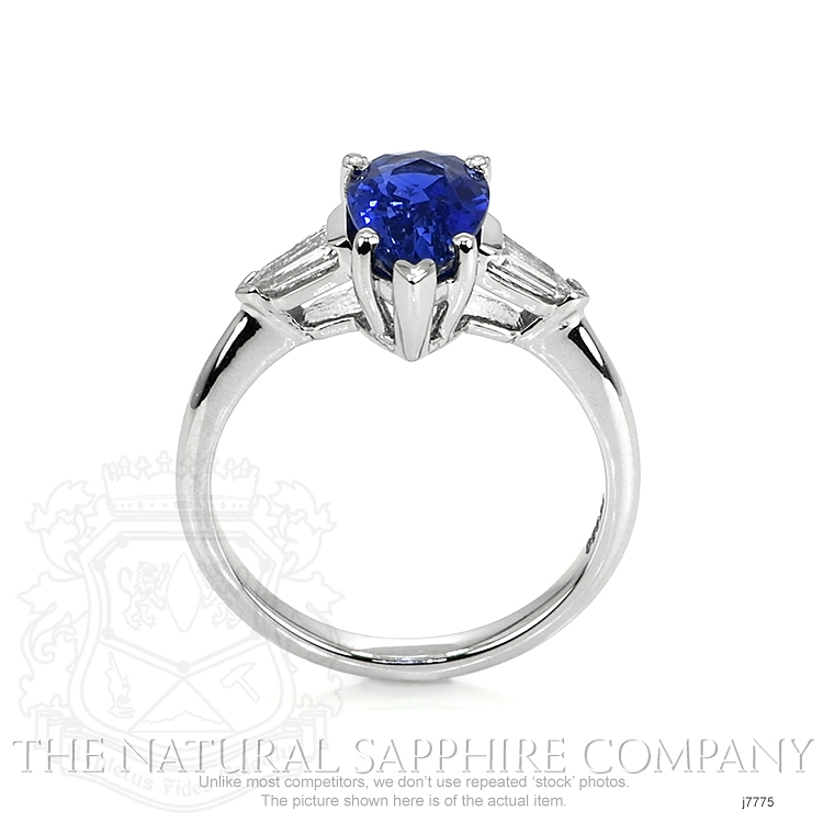1.74ct Blue Sapphire Ring Image 4