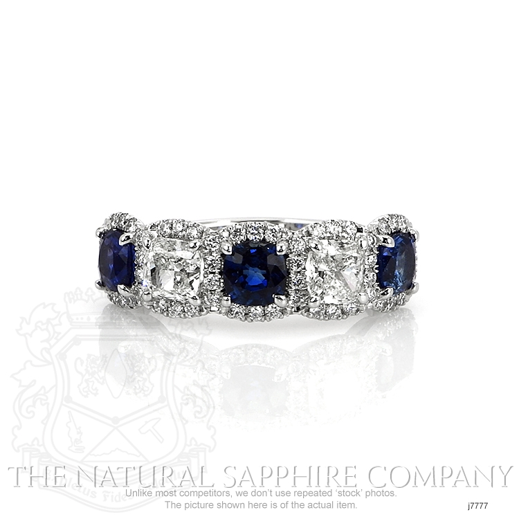 1.65ct Blue Sapphire Ring Image