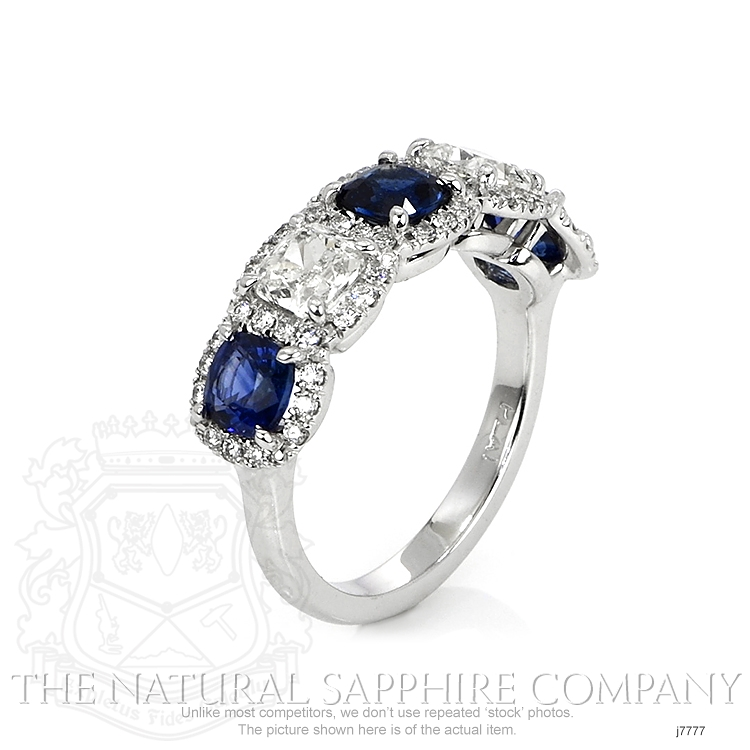1.65ct Blue Sapphire Ring Image 2