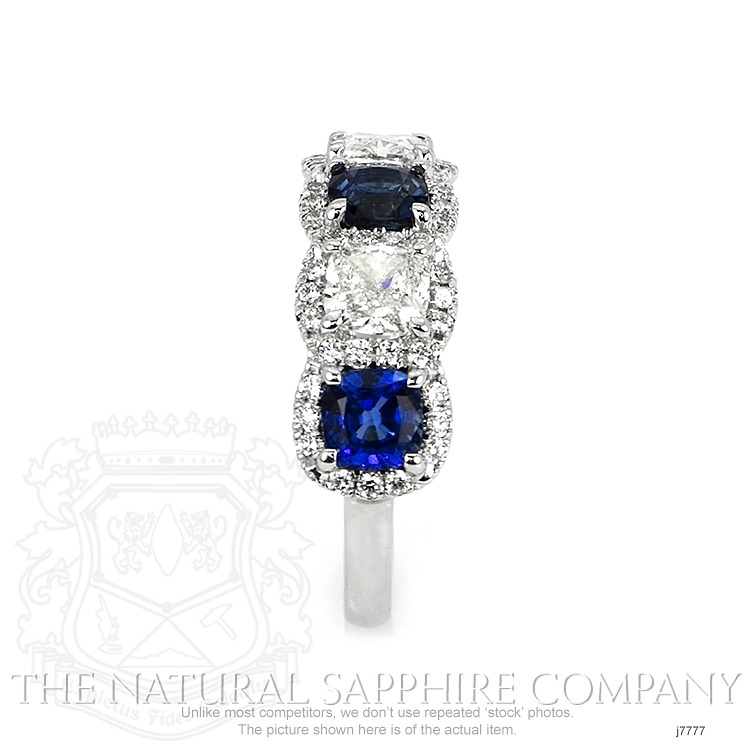 1.65ct Blue Sapphire Ring Image 3
