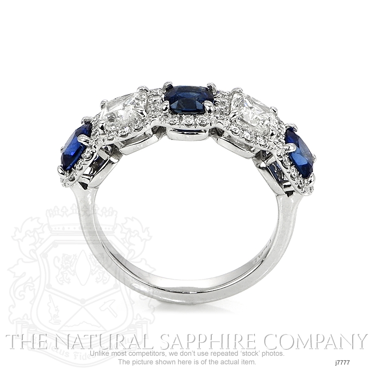 1.65ct Blue Sapphire Ring Image 4