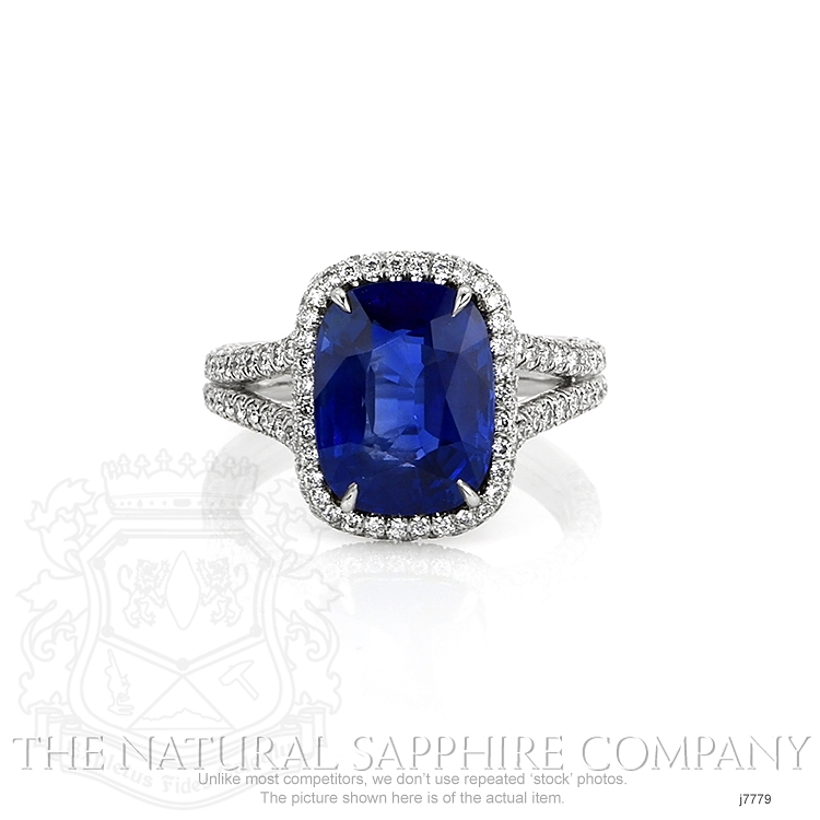 5.65ct Blue Sapphire Ring Image