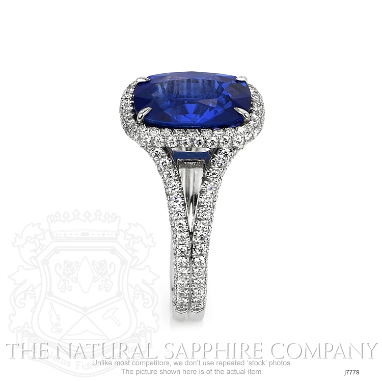 5.65ct Blue Sapphire Ring Image 3