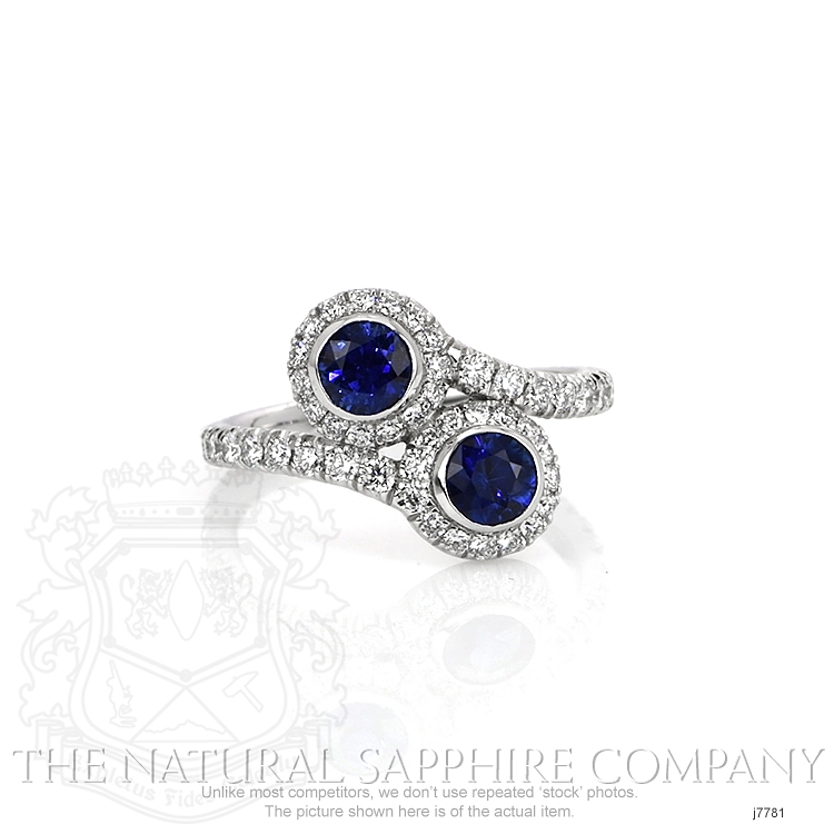 0.78ct Blue Sapphire Ring Image