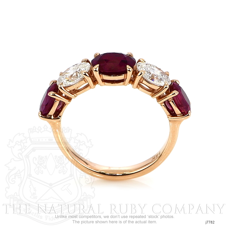 1.41ct Ruby Ring Image 4