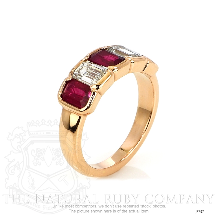 1.65ct Ruby Ring Image 2