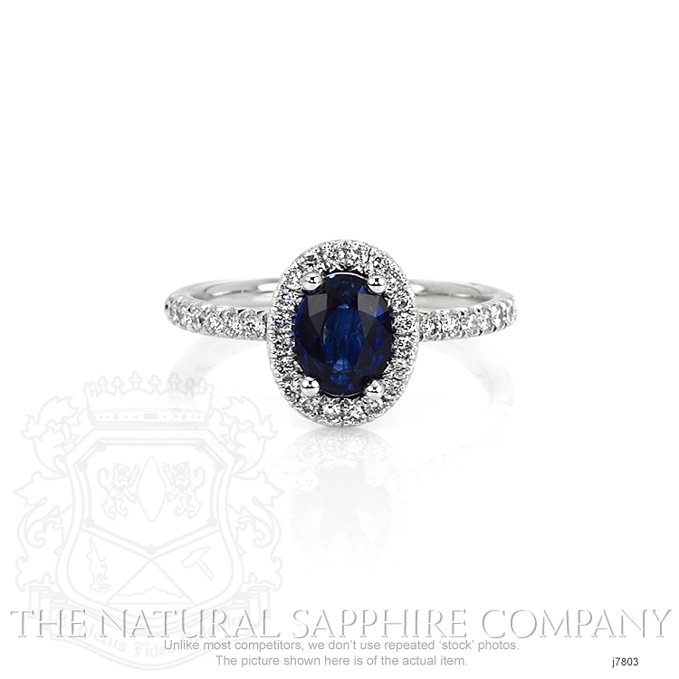 1.31ct Blue Sapphire Ring Image