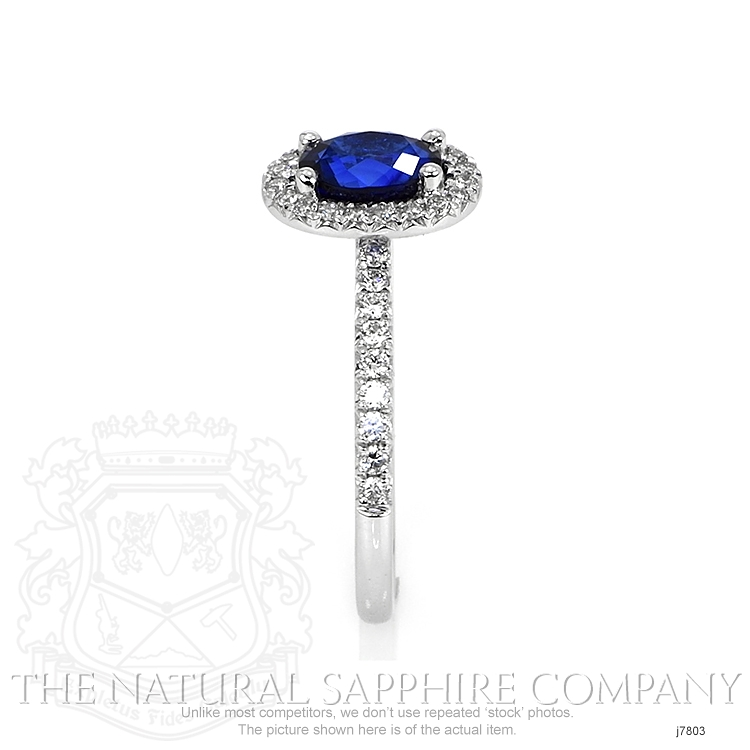 1.31ct Blue Sapphire Ring Image 3