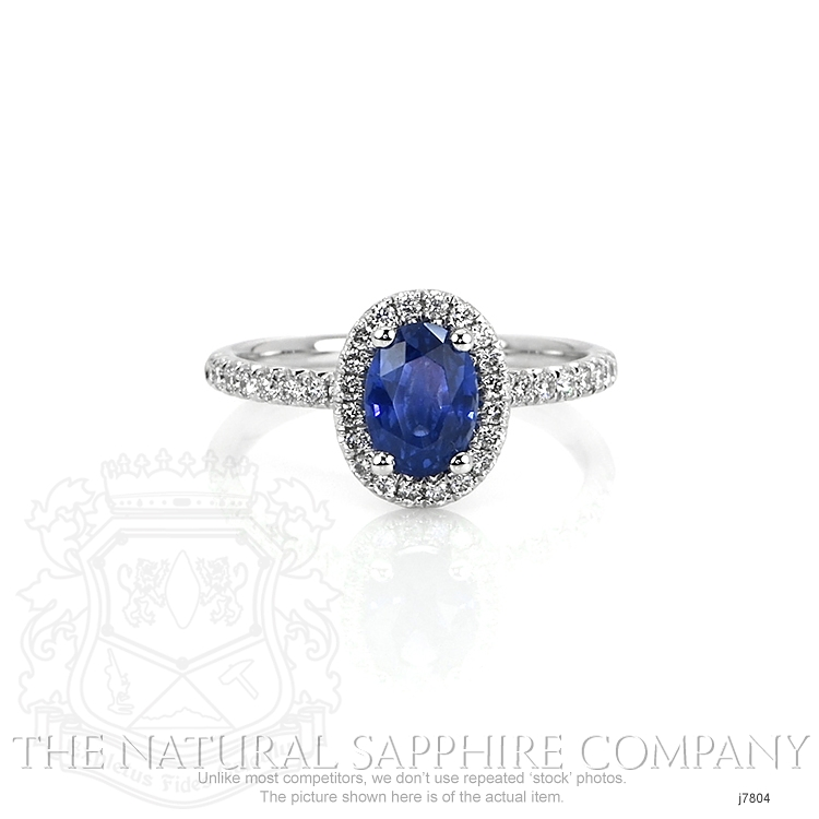 1.39ct Blue Sapphire Ring Image