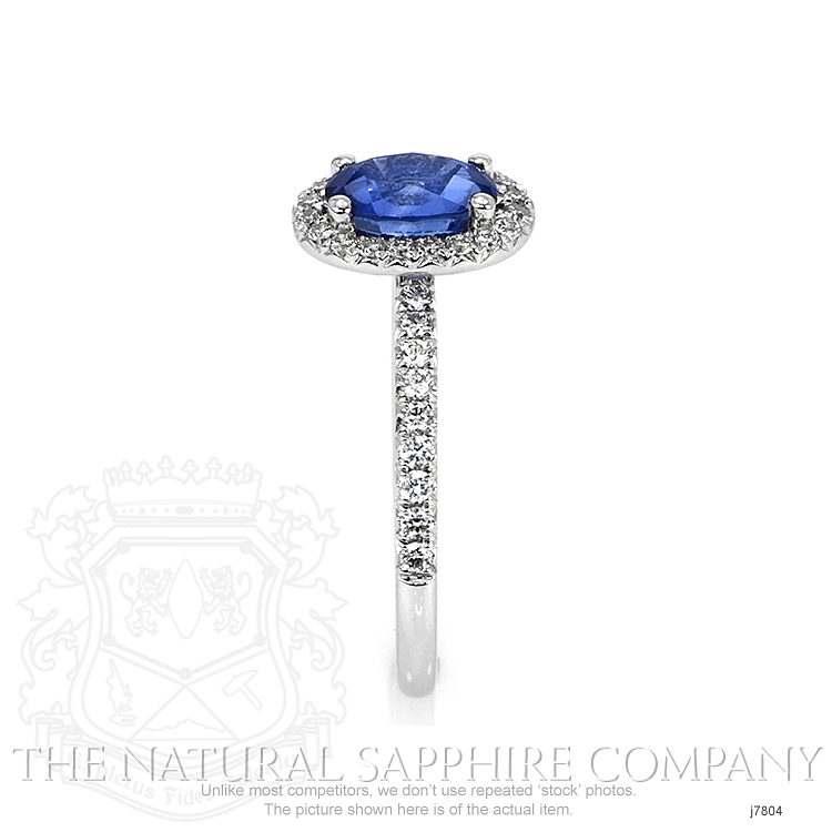 1.39ct Blue Sapphire Ring Image 3