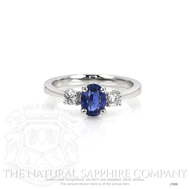 1.26ct Blue Sapphire Ring Image