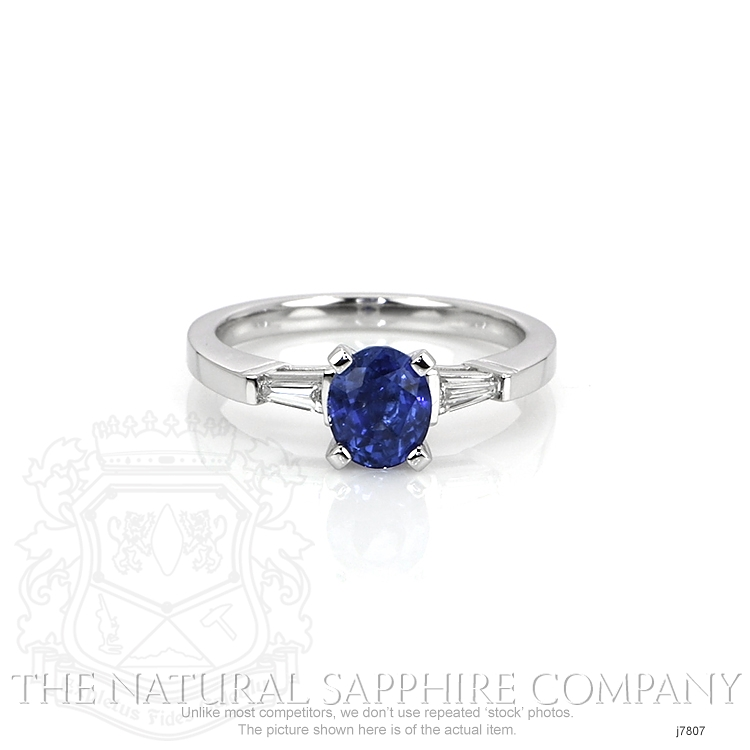 1.35ct Blue Sapphire Ring Image