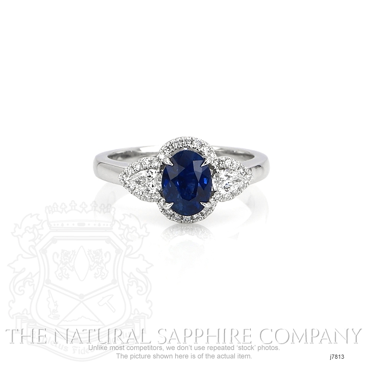 1.72ct Blue Sapphire Ring Image