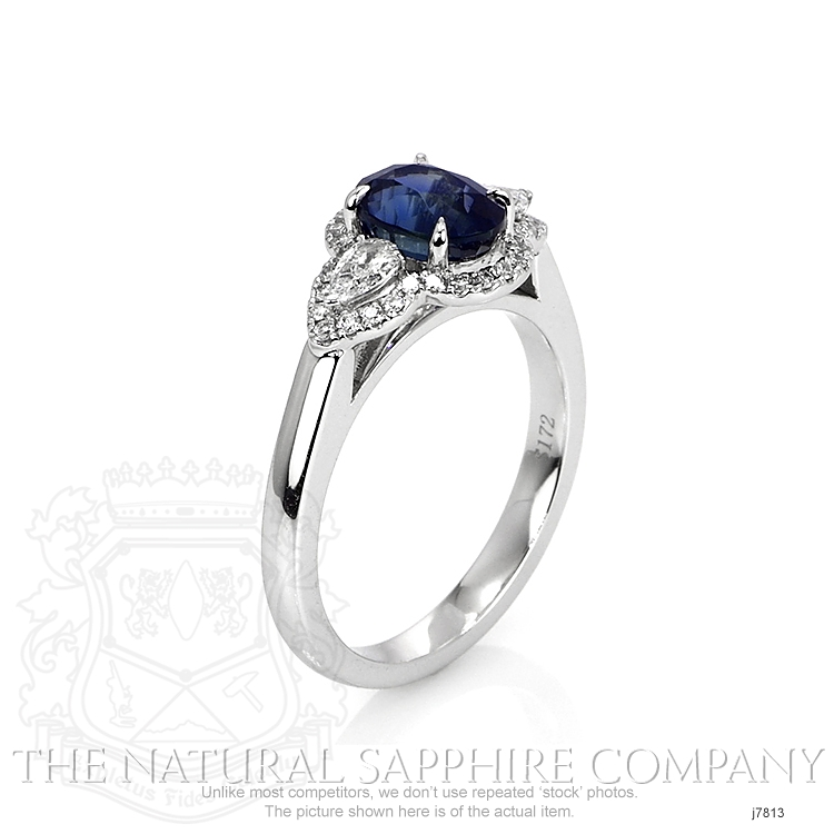 1.72ct Blue Sapphire Ring Image 2