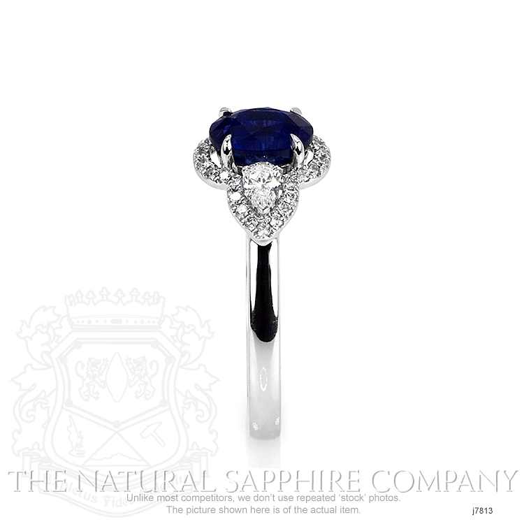 1.72ct Blue Sapphire Ring Image 3
