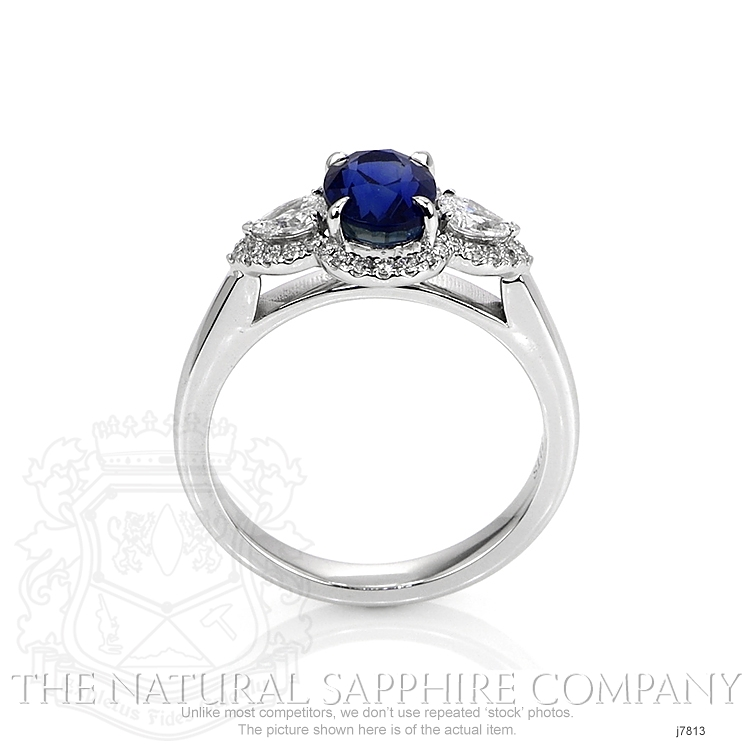 1.72ct Blue Sapphire Ring Image 4