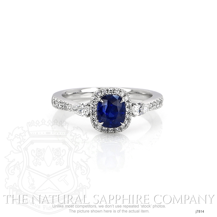 1.55ct Blue Sapphire Ring Image