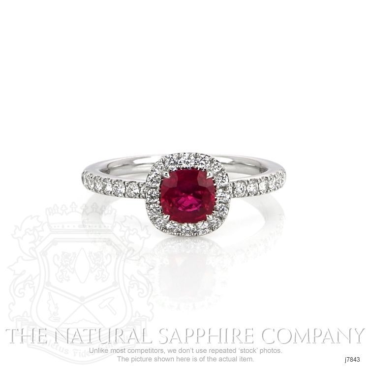 0.79ct Ruby Ring Image