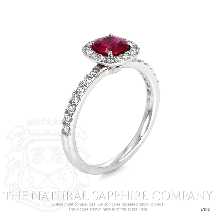 0.79ct Ruby Ring Image 2