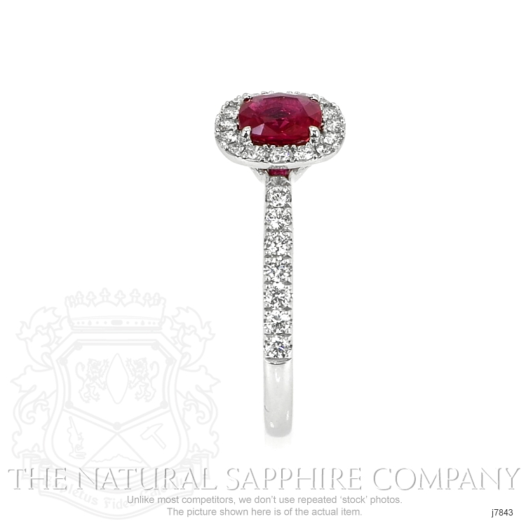 0.79ct Ruby Ring Image 3