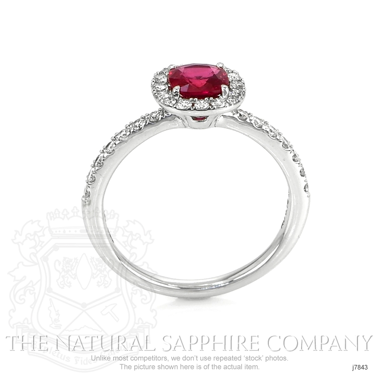 0.79ct Ruby Ring Image 4
