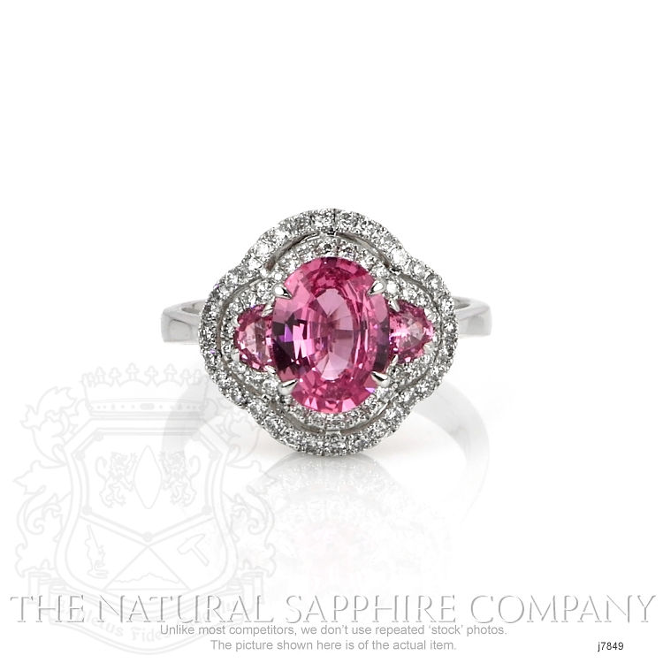 1.71ct Pink Sapphire Ring Image