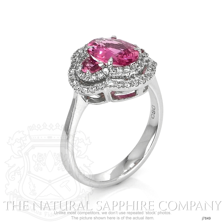 1.71ct Pink Sapphire Ring Image 2