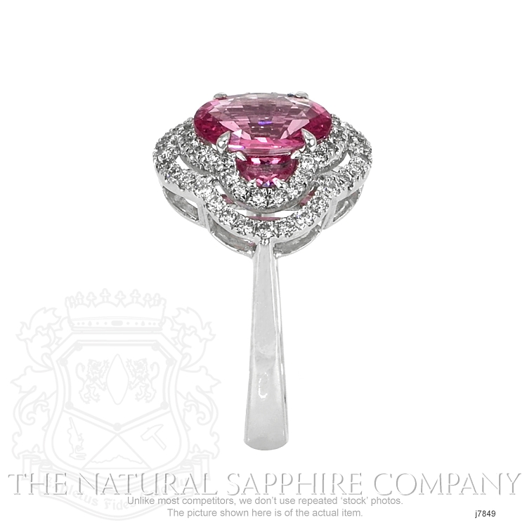 1.71ct Pink Sapphire Ring Image 3