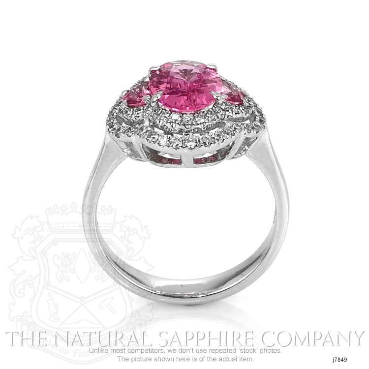 1.71ct Pink Sapphire Ring Image 4