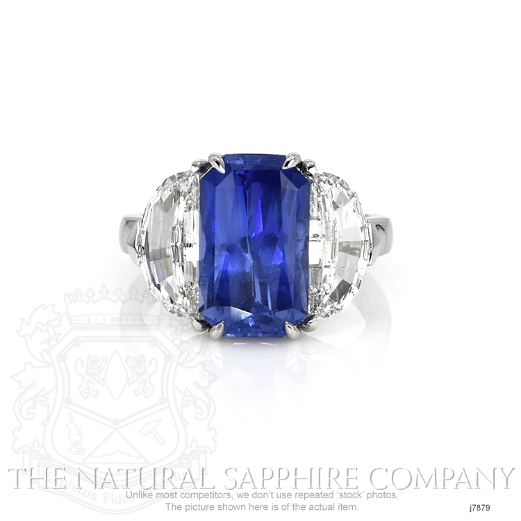 6.03ct Blue Sapphire Ring Image