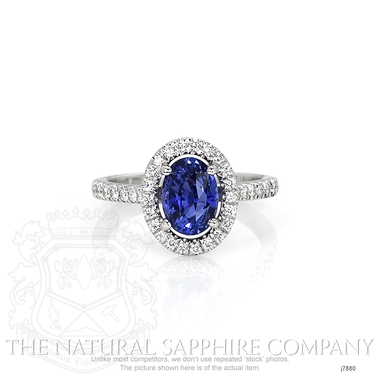 2.29ct Blue Sapphire Ring Image