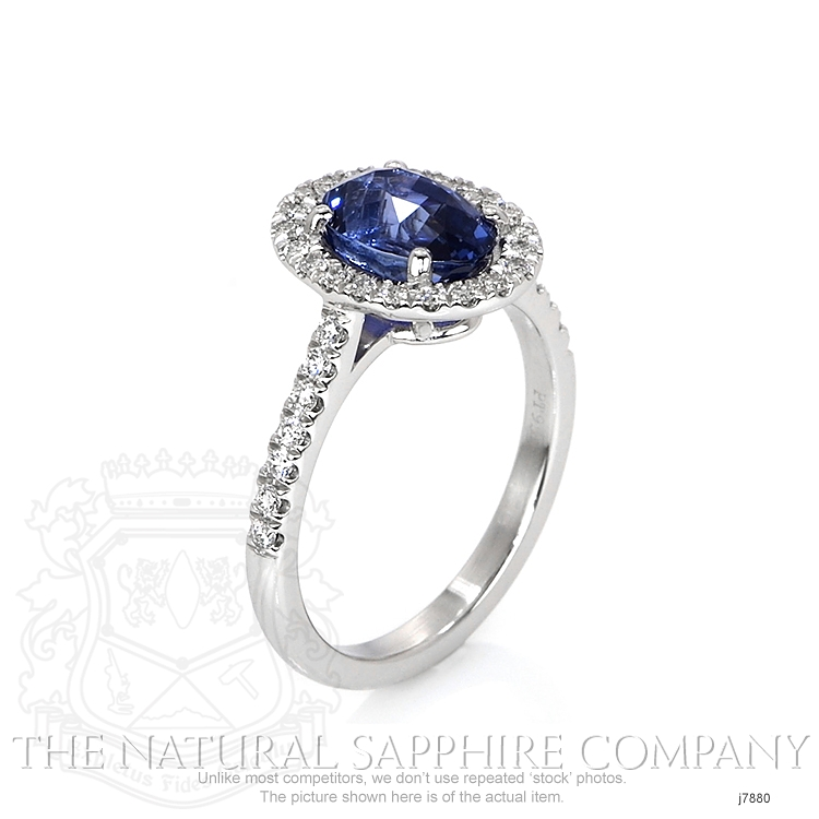 2.29ct Blue Sapphire Ring Image 2