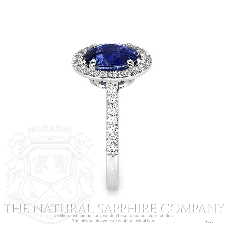 2.29ct Blue Sapphire Ring Image 3