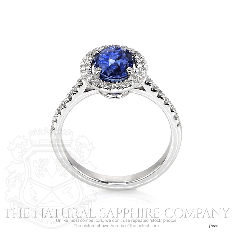 2.29ct Blue Sapphire Ring Image 4