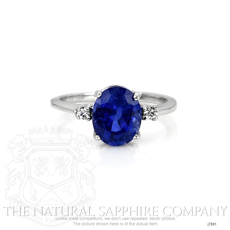 2.69ct Blue Sapphire Ring Image