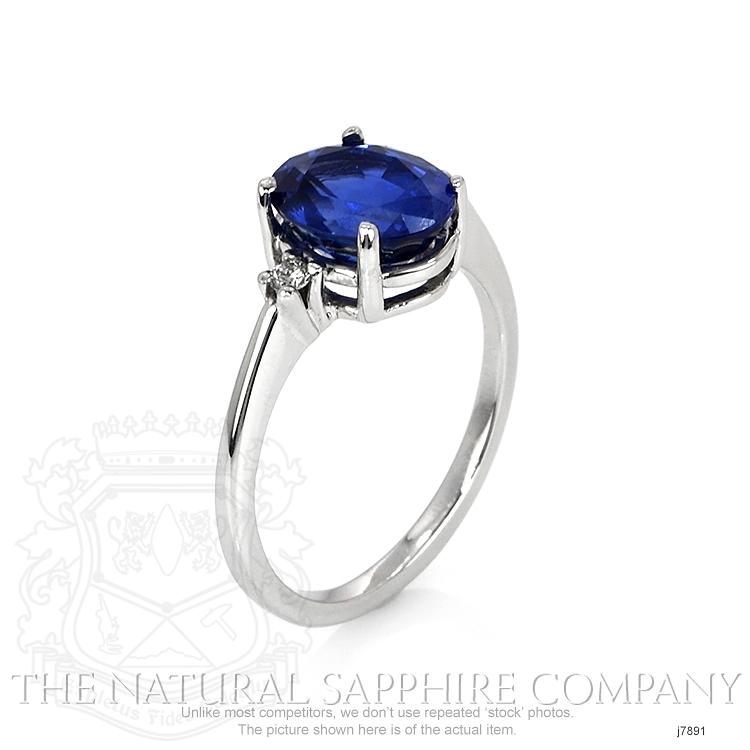 2.69ct Blue Sapphire Ring Image 2