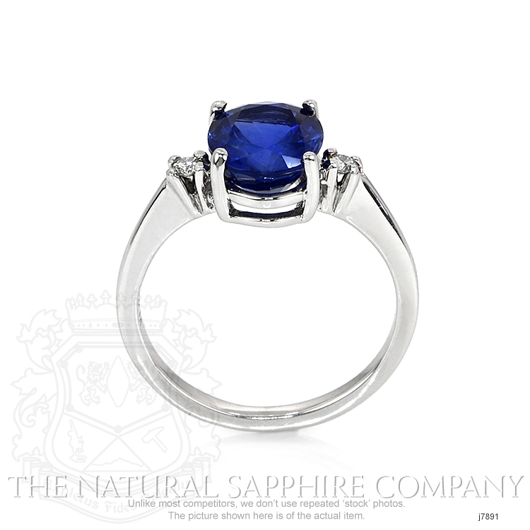 2.69ct Blue Sapphire Ring Image 4