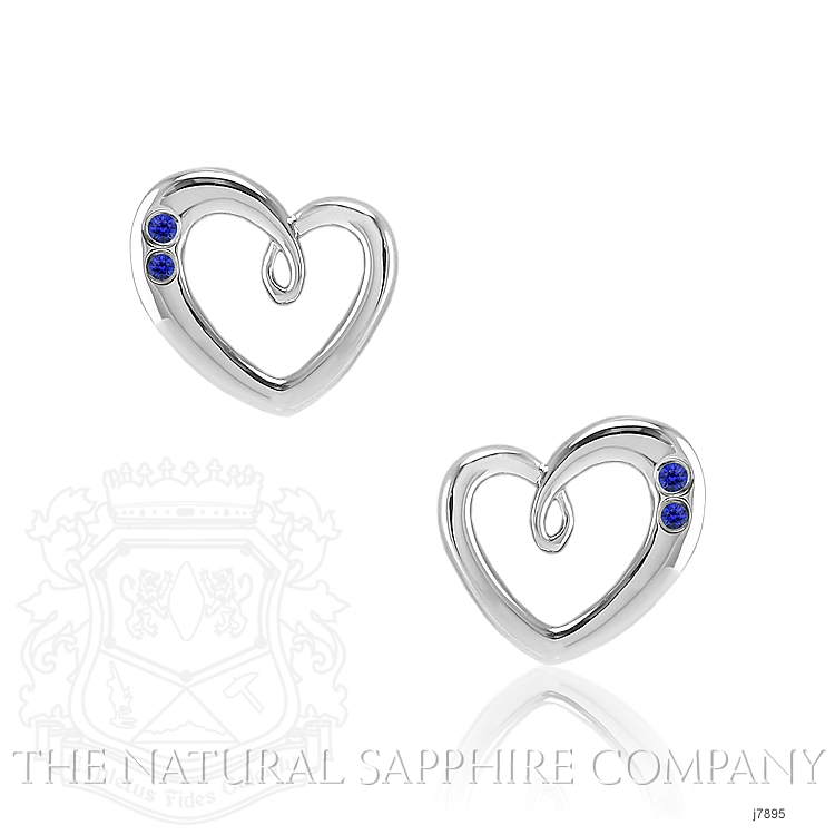 0.10ct Blue Sapphire Earring Image