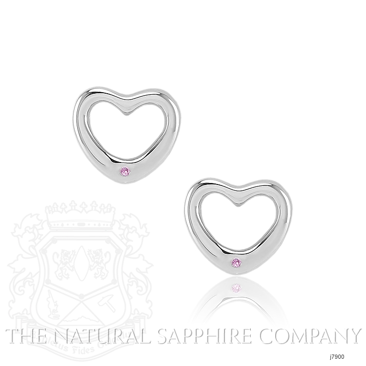 0.02ct Pink Sapphire Earring Image