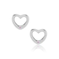 0.02ct Pink Sapphire Earring - J7900
