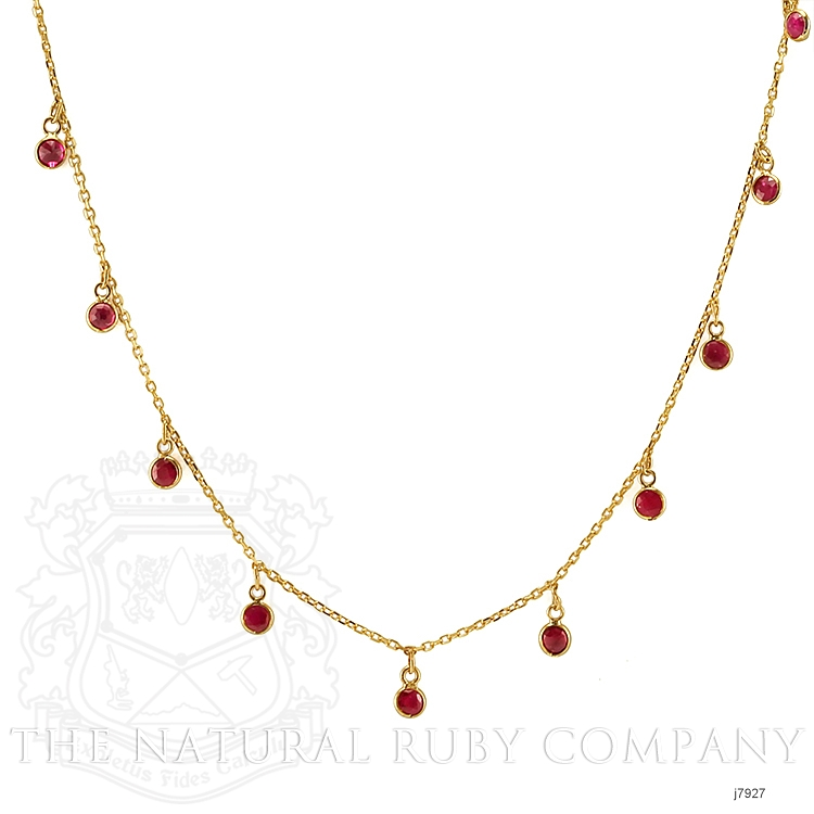 2.00ct Ruby Necklace Image
