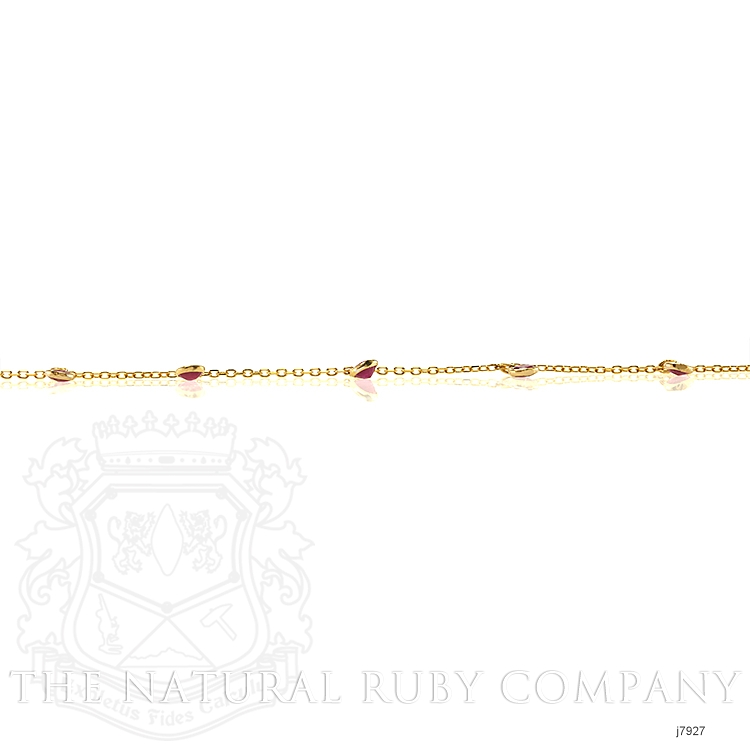 2.00ct Ruby Necklace Image 4