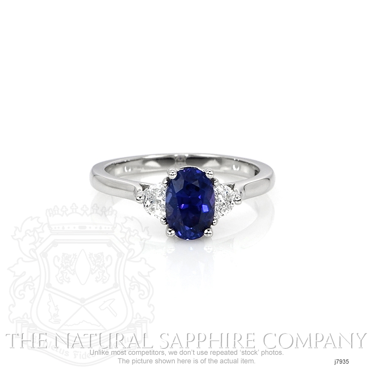 1.16ct Blue Sapphire Ring Image