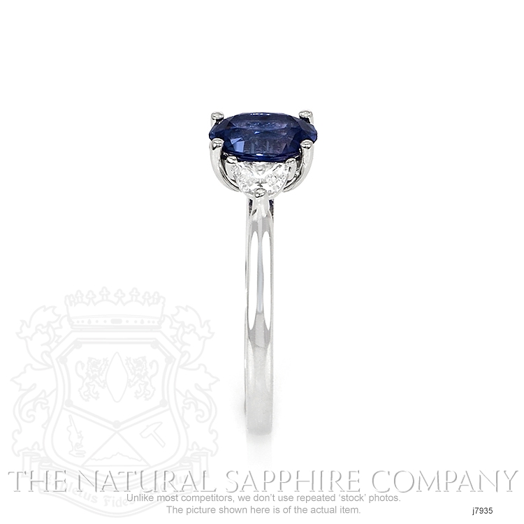 1.16ct Blue Sapphire Ring Image 3