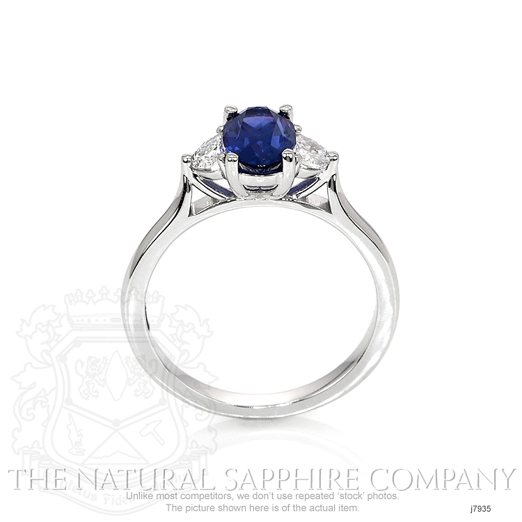 1.16ct Blue Sapphire Ring Image 4